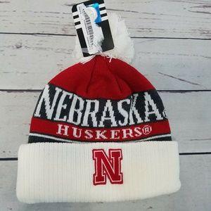 Nebraska Cornhuskers Adidas Boys Beanie Hat
